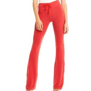 Wildfox Tennis Club Sweat-Pants in RED Size XS